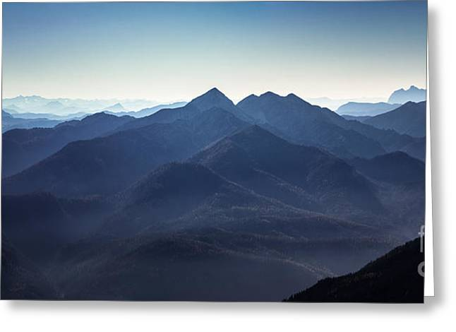Berges Greeting Cards - Sonntagshorn Greeting Card by Alexander Kunz
