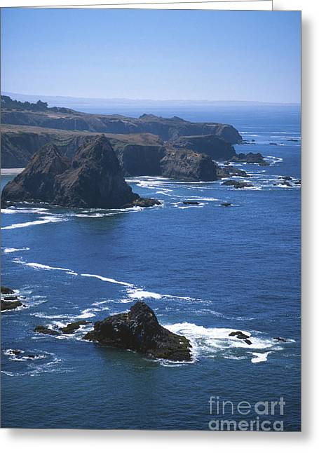 Ocean Of Emptiness Greeting Cards - Sonoma California Greeting Card by Chris Selby