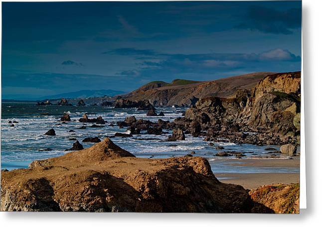 Sonoma Greeting Cards - Sonoma Coast Greeting Card by Bill Gallagher