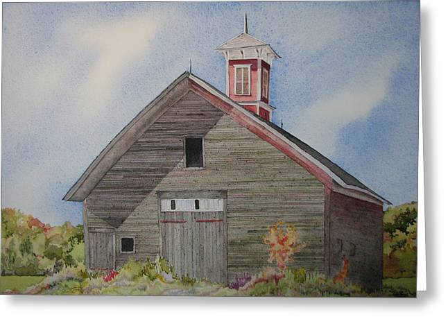Cupola Paintings Greeting Cards - Soon to be Forgotten Greeting Card by Mary Ellen  Mueller Legault