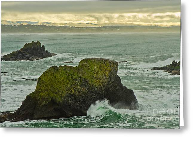 Pacfic Ocean Greeting Cards - Soothing Greeting Card by Nick  Boren