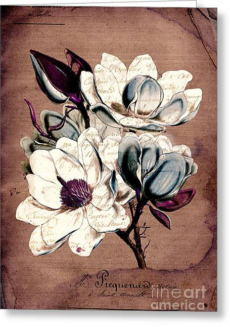 Texture Floral Greeting Cards - Sophisticated -02bb1d Greeting Card by Variance Collections