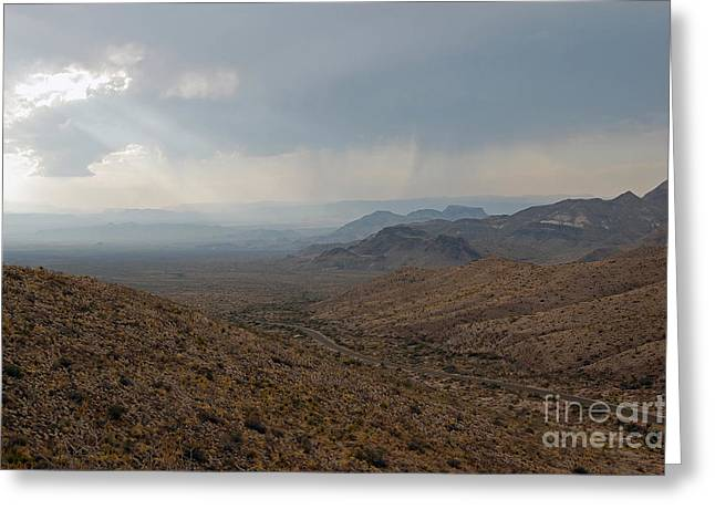 Travelpixpro Greeting Cards - Sotol Scenic Overlook Big Bend National Park Greeting Card by Shawn O