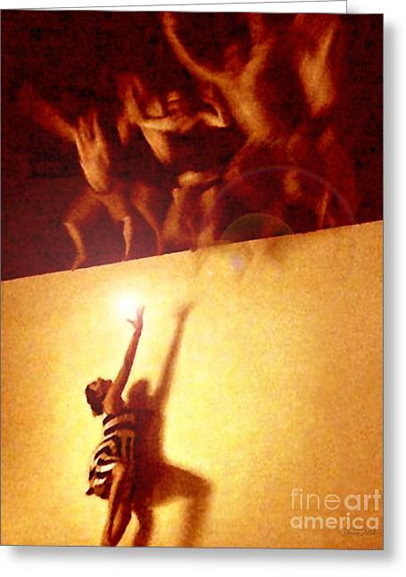 Souls Greeting Cards - Soul Catcher Greeting Card by Cristophers Dream Artistry