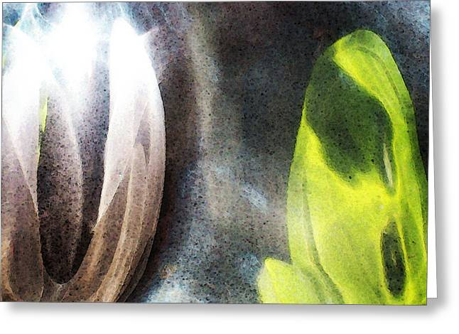 Buy Digital Art Greeting Cards - Soul Catcher - Emotive Abstract Art By Sharon Cummings Greeting Card by Sharon Cummings