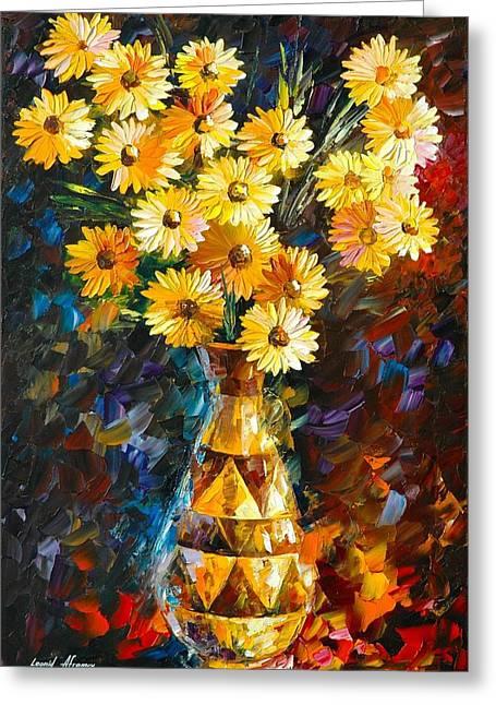 Souls Greeting Cards - Soul Inspiration Greeting Card by Leonid Afremov