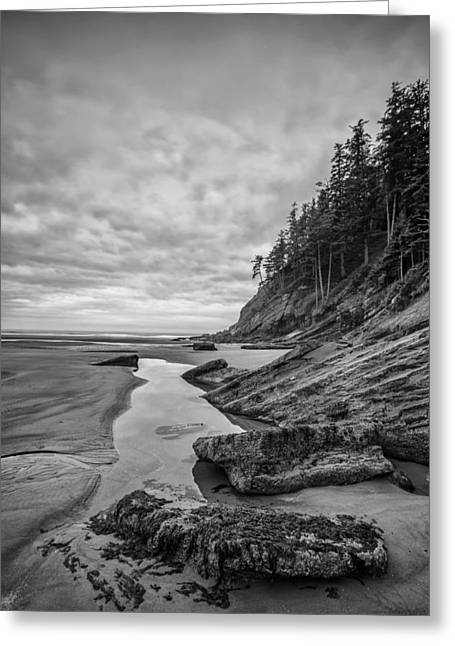 Ocean Black And White Prints Greeting Cards - Soul without Color Greeting Card by Jon Glaser