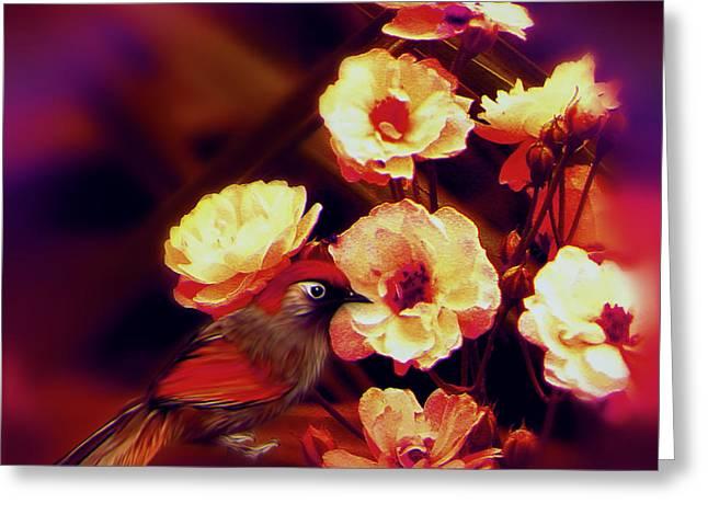 Subtle Colors Greeting Cards - Soulbird came back Greeting Card by Li   van Saathoff