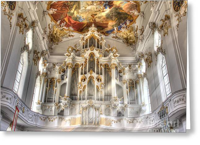 Kloster Greeting Cards - Sound of Light Greeting Card by Edmund Nagele