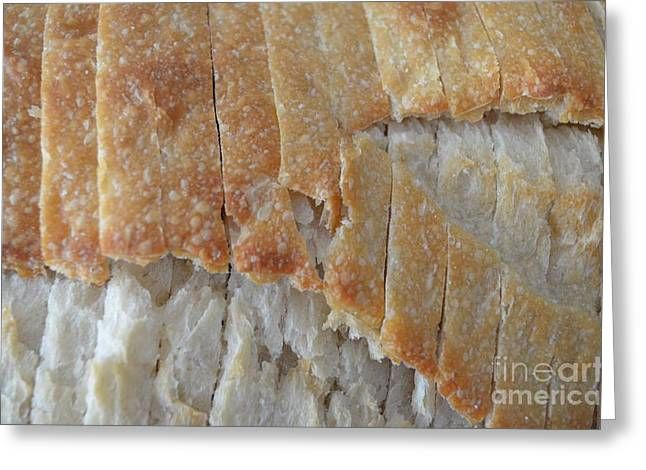Loaf Of Bread Greeting Cards - Sourdough Crust Greeting Card by Mary Deal