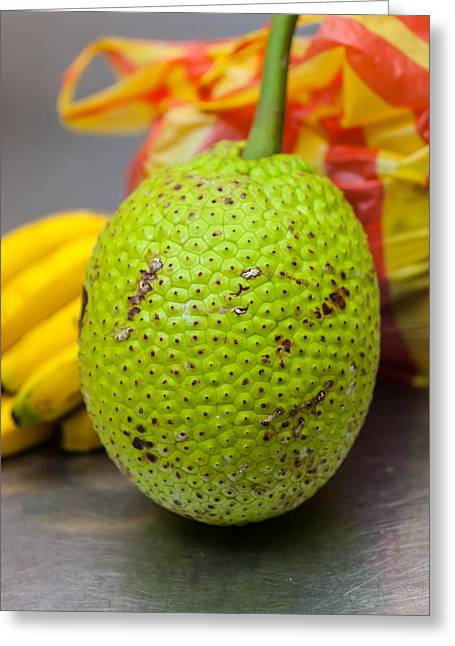 Annona Photographs Greeting Cards - Soursop Or Guanabana Greeting Card by Craig Lapsley
