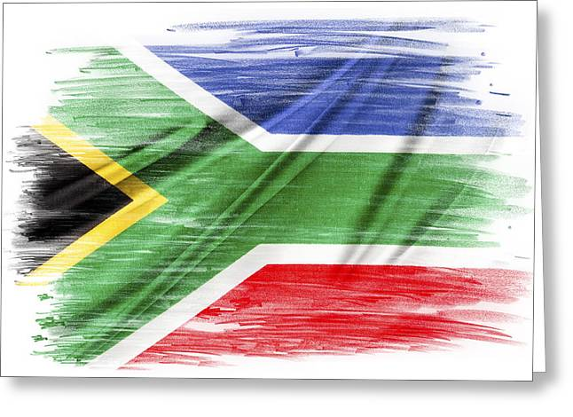 South African Greeting Cards - South Africa Greeting Card by Les Cunliffe