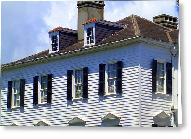 South Battery Beauty Greeting Card by Randall Weidner