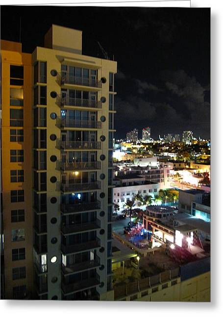 South Photographs Greeting Cards - South Beach - 12122 Greeting Card by DC Photographer