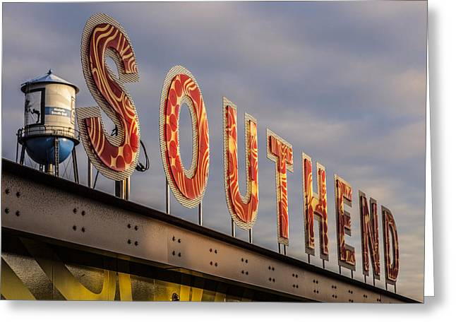 South End Greeting Card by Chris Austin