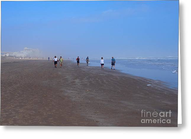 South Padre Island Texas Greeting Cards - South Padre Island Greeting Card by Louise Heusinkveld