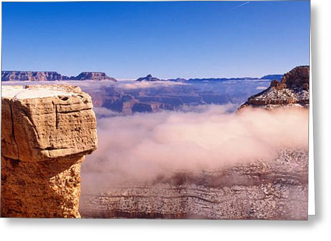 South Rim Greeting Cards - South Rim Grand Canyon National Park Greeting Card by Panoramic Images