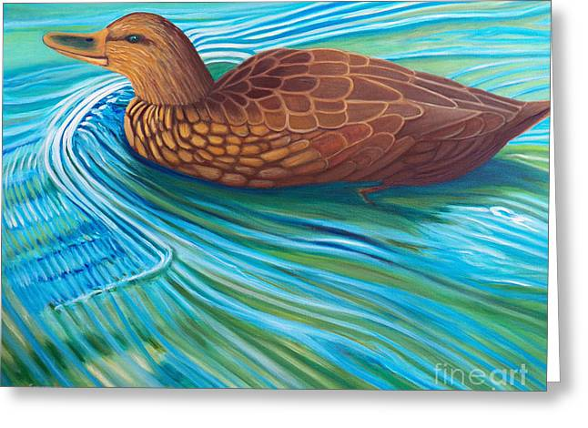 Water Fowl Greeting Cards - South Shore Greeting Card by Brian  Commerford