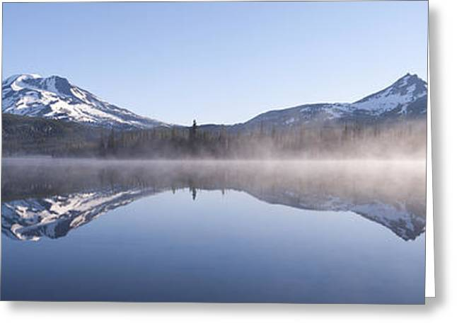Spark Greeting Cards - South sister at Sparks Lake Greeting Card by Christian Heeb