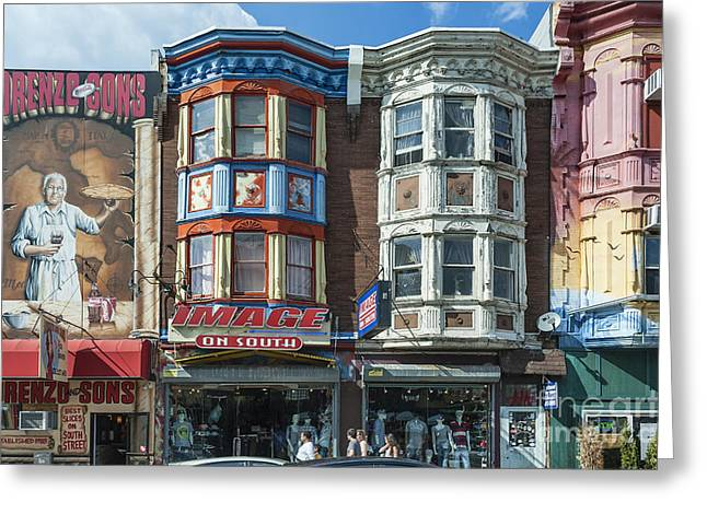 South Philadelphia Greeting Cards - South Street Greeting Card by John Greim