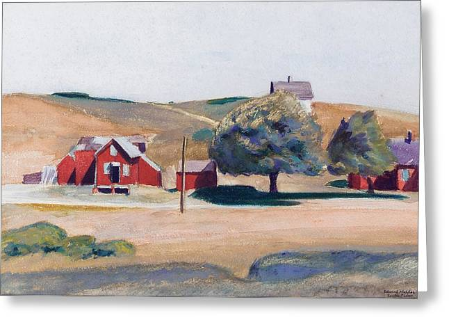 Hopper Greeting Cards - South Truro Post Office I Greeting Card by Edward Hopper