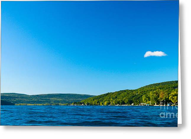 South View Of Canandaigua Lake Greeting Card by Steve Clough