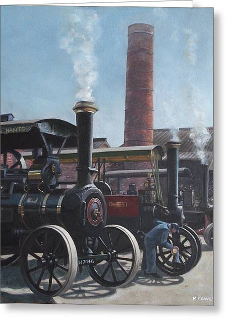 Southampton Bursledon Brickworks Open Day Greeting Card by Martin Davey