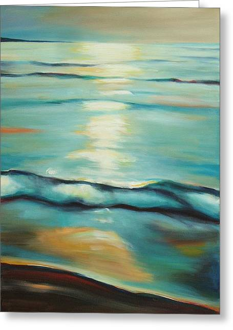 Southampton Water Paintings Greeting Cards - Southampton Summer Greeting Card by Sheila Diemert