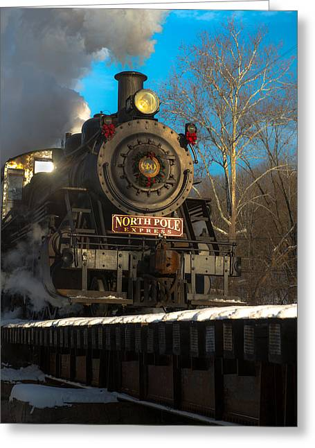 Express Greeting Cards - Southbound Greeting Card by Scott Hafer