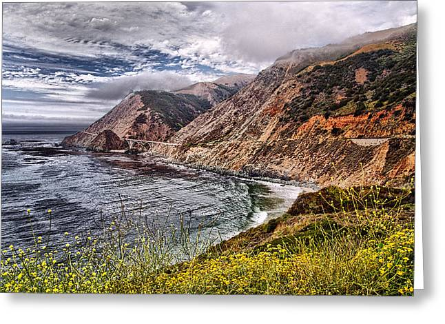 Pch Greeting Cards - Souther California Coast Greeting Card by Jon Berghoff