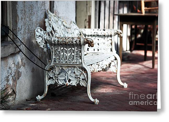 Photo Art Gallery Greeting Cards - Southern Antiques Greeting Card by John Rizzuto