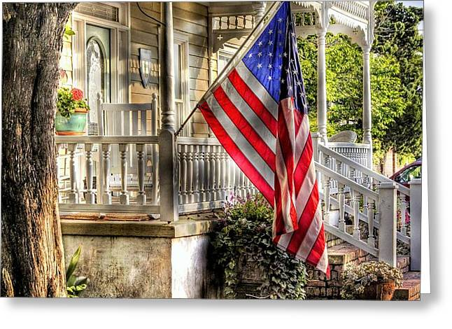 Southern Charm Greeting Card by Benanne Stiens