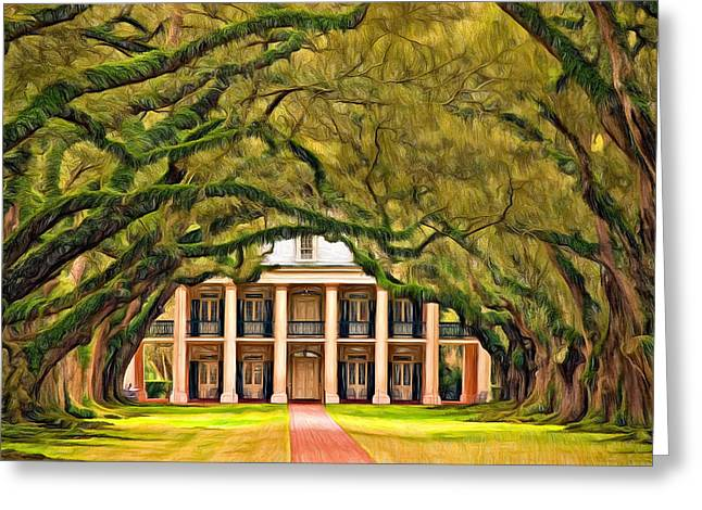 Slaves Greeting Cards - Southern Class - Paint Greeting Card by Steve Harrington