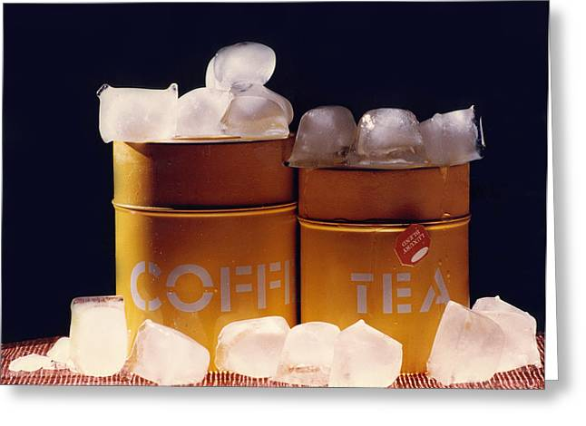 Tea Canister Greeting Cards - Southern Comfort Greeting Card by Tom Baptist