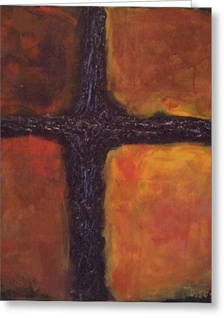 Van Dyke Brown Greeting Cards - Southern Cross Greeting Card by Jim Ellis