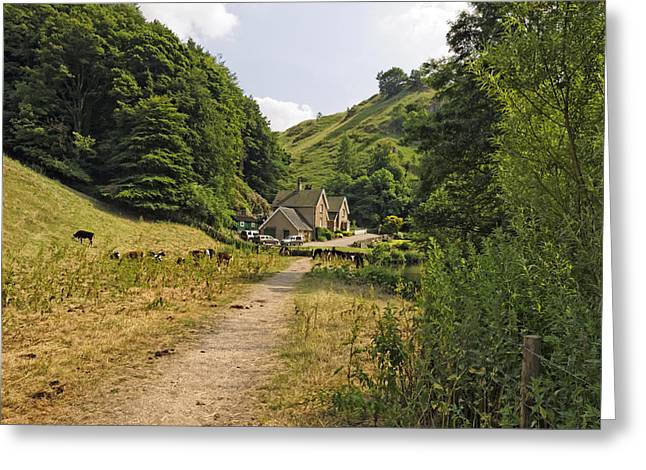 Hills Greeting Cards - Southern End of Wolfscote Dale Greeting Card by Rod Johnson