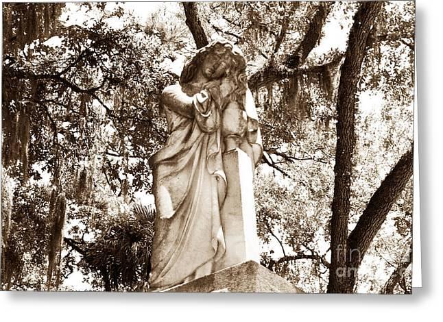 Southern Girl Greeting Card by John Rizzuto