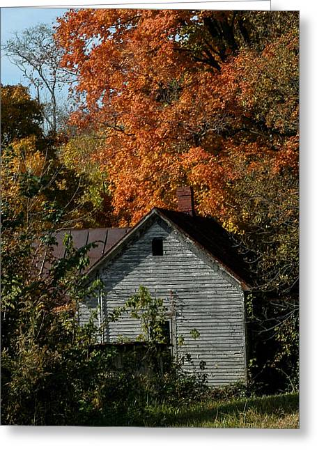 Indiana Scenes Greeting Cards - Southern Indiana Fall Greeting Card by Jeff Lantz