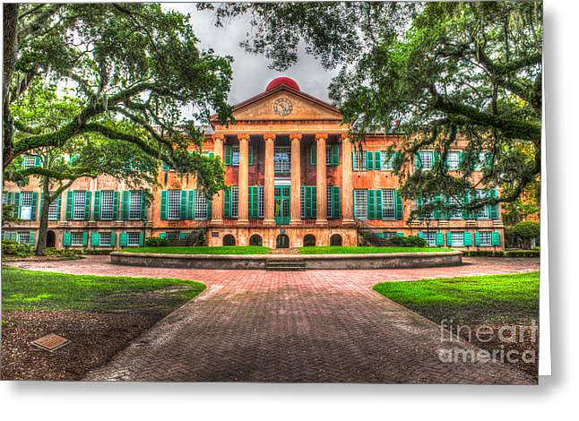 Charleston Pathway Greeting Cards - Southern Life Greeting Card by Dale Powell