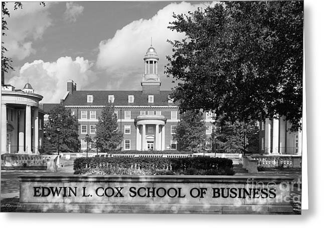Occasion Greeting Cards - Southern Methodist University Cox School of Business Greeting Card by University Icons