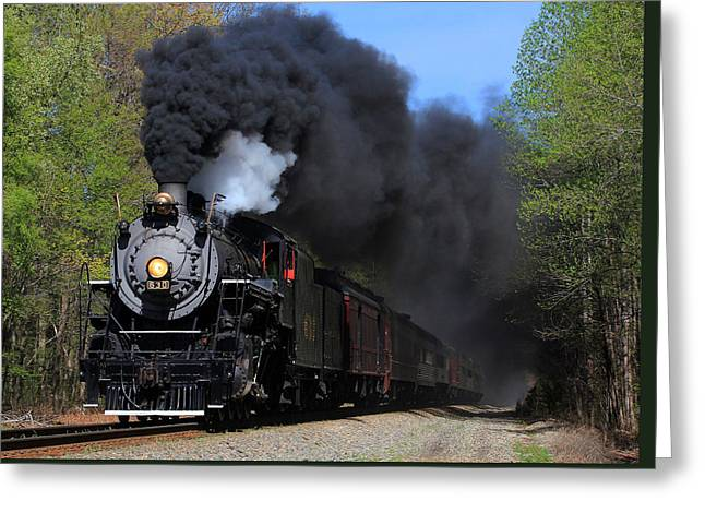21st Greeting Cards - Southern Railway Steam Engine #630 Greeting Card by Joseph C Hinson Photography