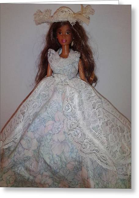 Top Seller Greeting Cards - Southern Style Barbie Greeting Card by Erica  Darknell