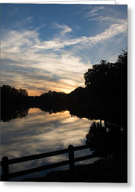Rood Greeting Cards - Southern Sunset Greeting Card by Julie Wynn
