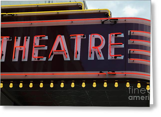 Southern Theatre Greeting Card by Julie Penney