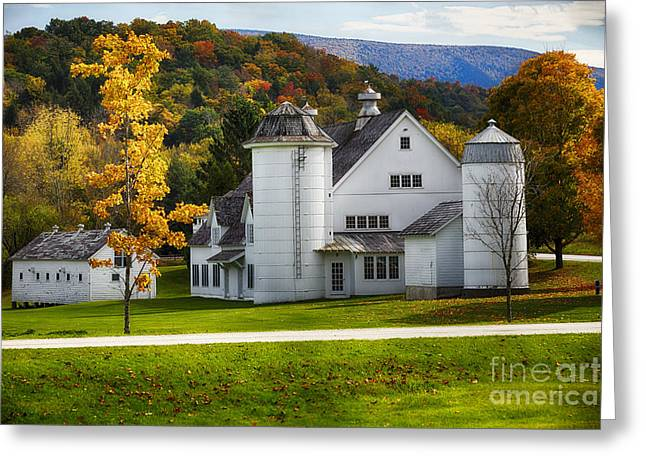 Grafton Vermont Greeting Cards - Vermont Fall Scenic II Greeting Card by George Oze