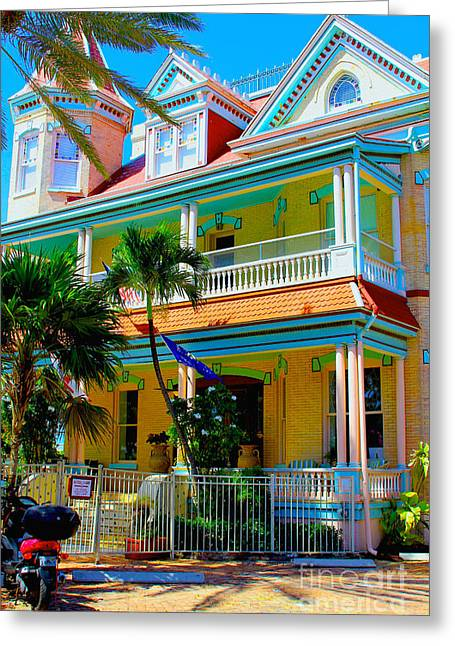 Hemingway Greeting Cards - Southernmost house Greeting Card by Carey Chen
