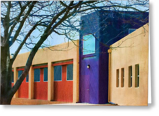 Geometric Style Greeting Cards - Southwestern Architecture Greeting Card by Nikolyn McDonald