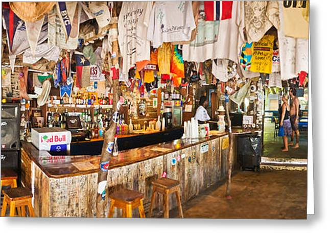 Souvenir Shop, Jost Van Dyke, British Greeting Card by Panoramic Images