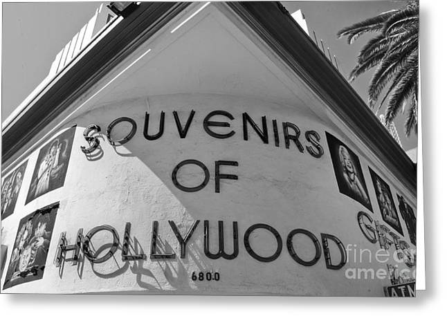 Hollywood Photographs Greeting Cards - Souvenirs Greeting Card by Dan Holm