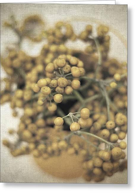Flower Still Life Prints Greeting Cards - Souvenirs de demain II Greeting Card by Taylan Soyturk